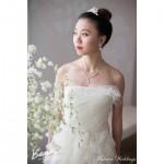 Regina, a stunning bride
